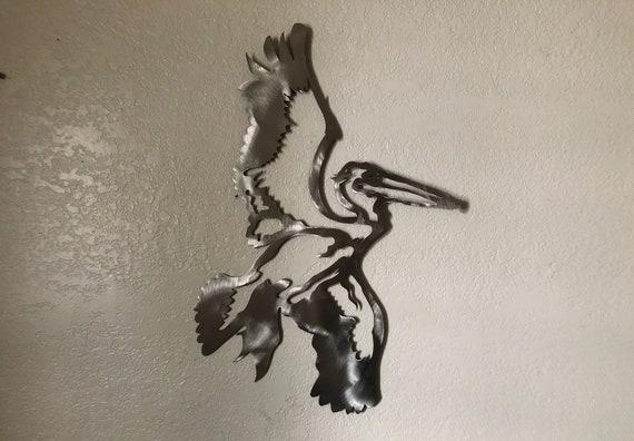 Pelican Cutout Etsy
