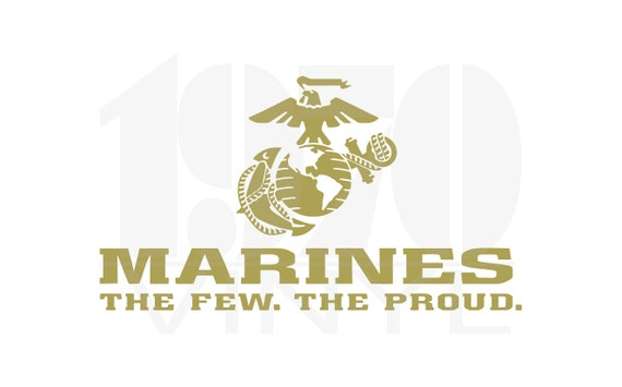 Detailed United States Marine Corps Officially Licensed USMC Hobbyist #20273 Oohrah! USMC Eagle Globe and Anchor Vinyl Decal