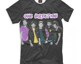 9170fb246ae One Direction Band T-Shirt, Men's Women's Tee