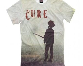 4422adb41 The Cure Band Robert Smith 3D Full Print T-Shirt, Men's Women's Tee