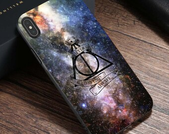 f5db3797469 The Deathly Hallows iPhone XS Max Case iPhone 8 7 6S Plus X XS XR Cases   Harry  Potter Samsung S10 S10+ S9+ S8+ S7 Edge Note 9 8 Phone Case