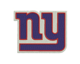 c4e6c37467d New York Giants 8 sizes Embroidery design DIGITAL INSTANT DOWNLOAD