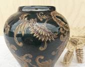 Beautiful ancient Chinese vase Qianlong mark