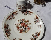 Vintage Colclough Tray and cup Imari pattern