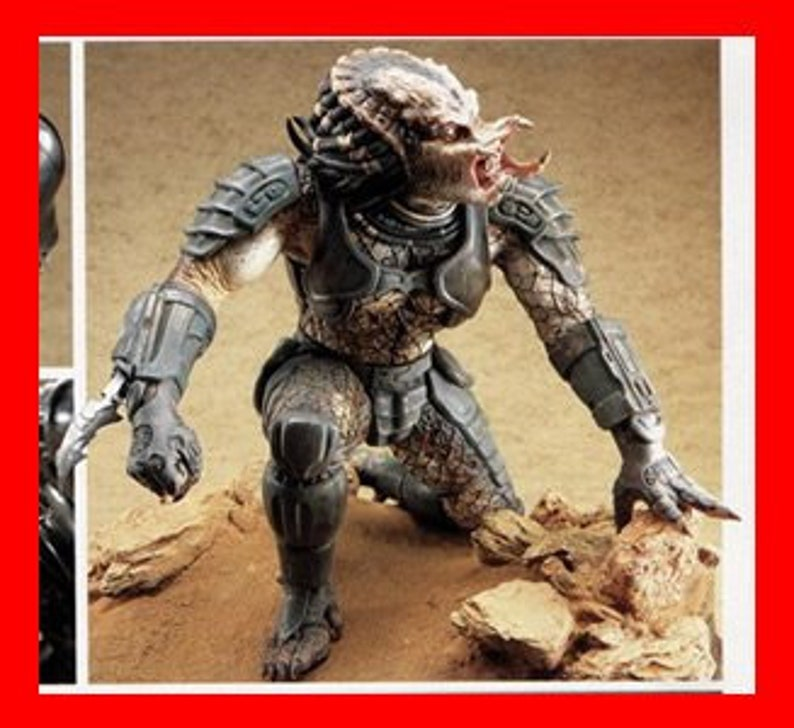 "11/""Alien DOG Crouching Sci-Fi Movies Vinyl Model Kit 1//1"