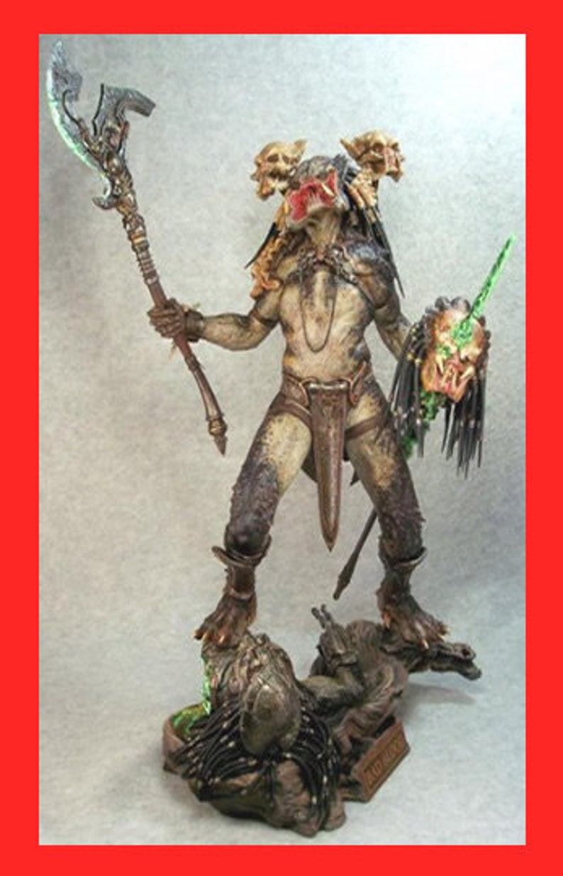 BAD BLOOD Predator 1/6 Narin Sculpts resin model kit , diy model for Hobby  Collectibles predator sculpture Fast Ship
