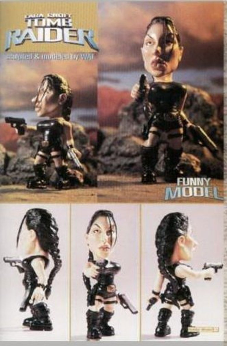 "10/""Lara Croft Tomb Raider in Short Suit Resin Model Kit 1//6"