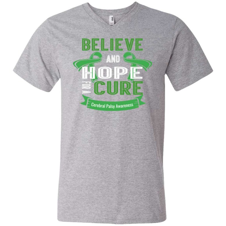 Believe and Hope for a Cure.. V Neck