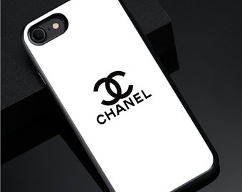 67ab24f16792 iPhone Xs Max X Xr 7 8 Plus 6S Chanel White Case Samsung S10 Plus case  Chanel White S10 Case S9 S8+ Note 9 8 Case