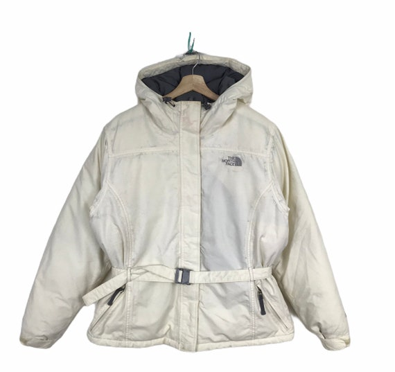 THE NORTH FACE Hyvent Goose Down Puffer Jacket Wit