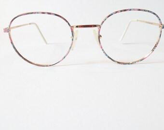 bd4cda2763a3 Vintage Womens LUX de PARIS Nashville Eyeglasses Designer Used Gold Frame  Made in France