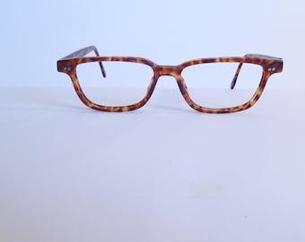 638c5bb424e Vintage GIORGIO ARMANI 352 145 52-16 140 Eyeglasses Used Frame Made in ITALY
