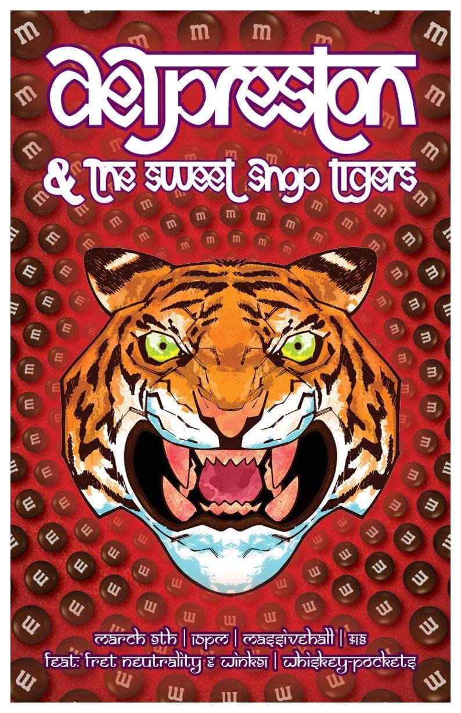 FBP: Del Preston and the Sweet Shop Tigers image 0
