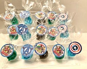 Superhero Baby Shower 16oz Superhero Baby Party Favor Cups