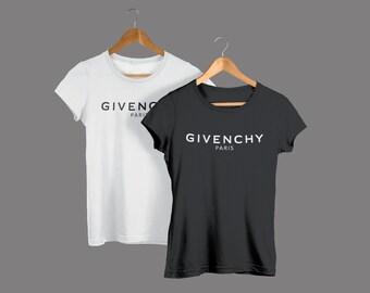 e556a50b2bad8 Givenchy Paris Unisex T-Shirt Balenciaga Gucci Louis Chanel Dior T-shirt  Givenchy Paris T shirt NEW