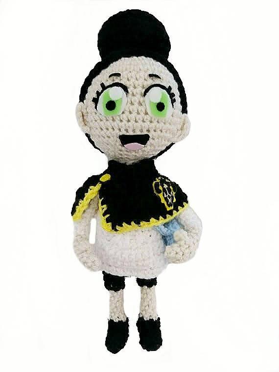 🎤 Crochet anime doll Miku Hatsune - Amigurumi doll Crochet anime ...   760x570