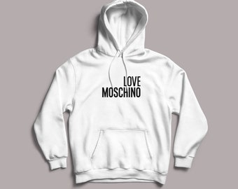 58039517967 custom Hoodie for her for him inspired by Moschino