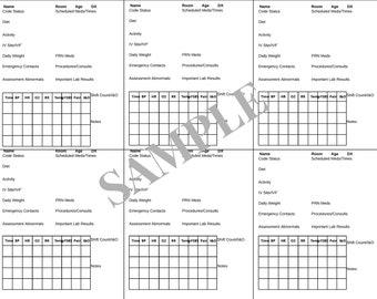 graphic regarding Printable Sbar Template identify Sbar Etsy