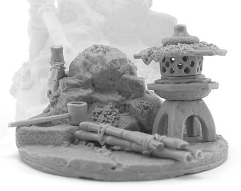 Wellspring • 28mm 32mm fantasy resin bases terrain • for Tabletop Gaming • D&D • by Zabavka Workshop