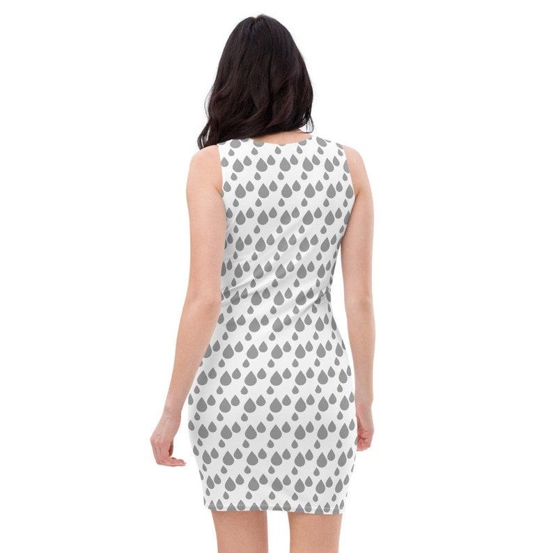 white grey pattern grey Sleeveless Cut Party Dresses Female Dresses