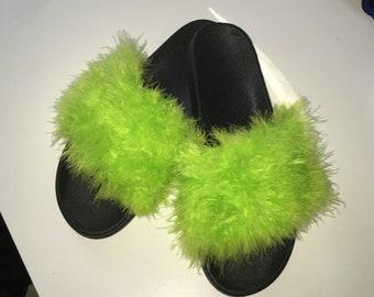 f4280c36dda6 Affordable Women s Faux Fur Furry Slides