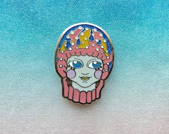 Pio Jellyfish Boy Enamel Pin