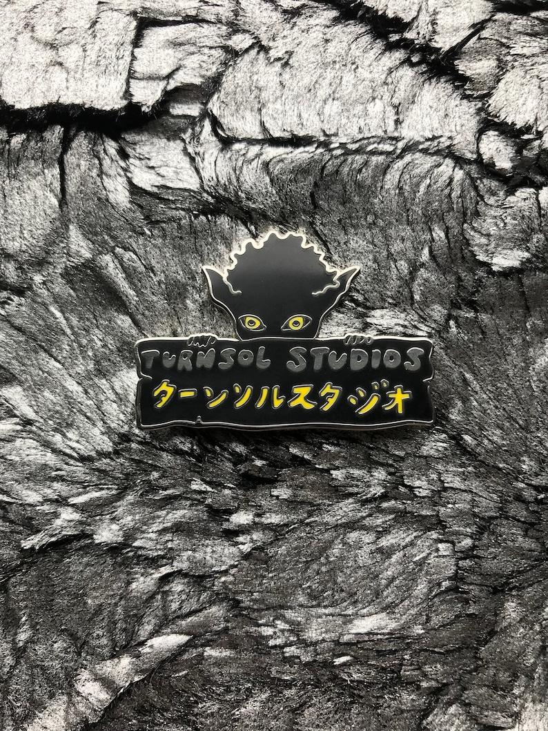 Turnsol Studios Goblin Enamel Pin image 0