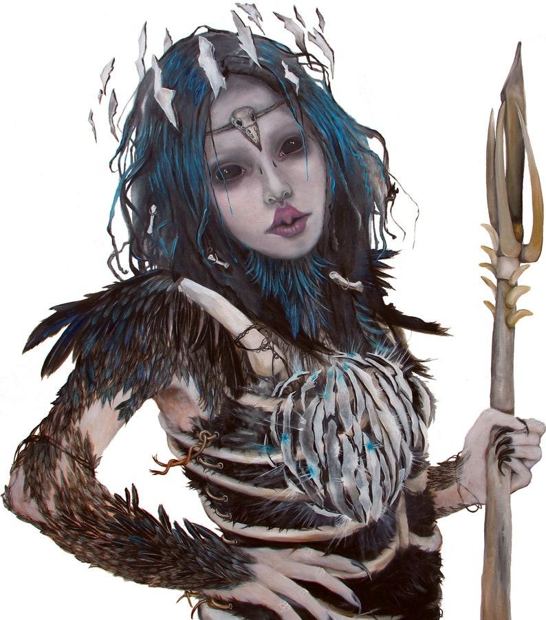 Huginn Art Print image 0