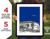 St. LOUIS BLUES Hockey Photo Picture ENTERPRISE Center Arena Stadium Skyline Poster Print 8x10, 8.5x11, 11x14, 11x17, 16x20 Custom Options