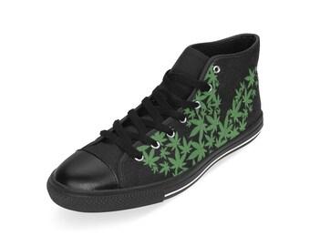 100% authentic 8494b 5bc23 Men s Cannabis Lover Sneakers - Marijuana Leaf, Leaf flag, Ganja Weed Shoes  by Freaky Shoes, Hoodie, Shirt, Accessories,
