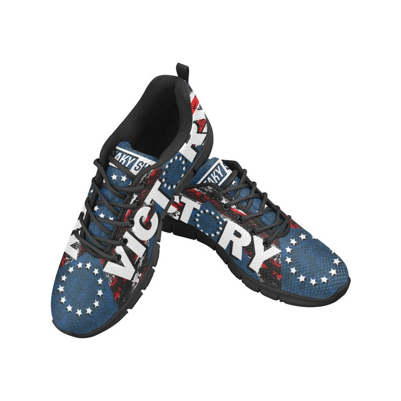 1d6bb11395 Women's Betsy Ross Victory Shoes Custom Sneakers Running Shoes Freaky Shoes  Women's Breathable Running Shoes