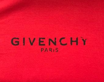 9578d9abc4da Givenchy Distressed Logo T-Shirt Chanel Louis Vuitton Gucci Balenciaga  Saint Laurent Supreme Hype Beast Luxury Inspired