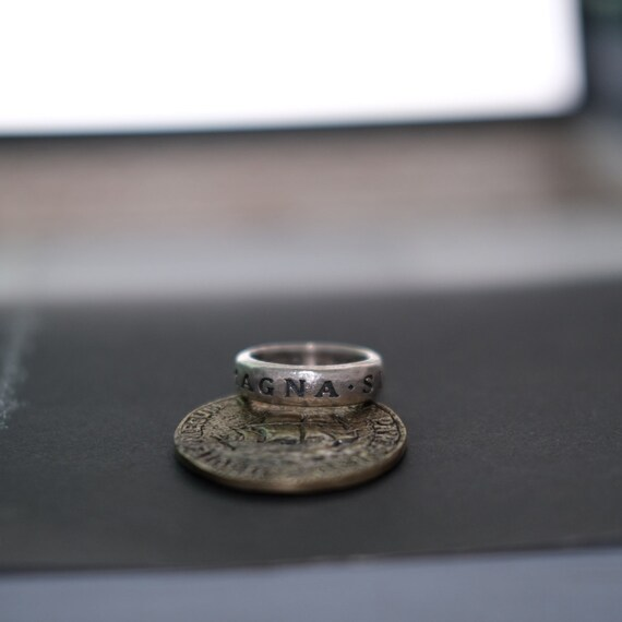 Uncharted Nathan Drake Ring Silver 925 Uncharted Ring