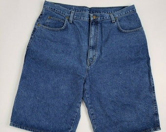 74971a880e71b Vintage Bud King Of Beers Budweiser Denim Blue Jean Shorts Mens Sz 38