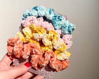 The Velvet Crochet Scrunchie
