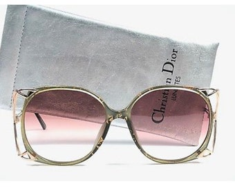 6cedac3c1d6e Vintage Christian Dior Sunglasses from the 80s
