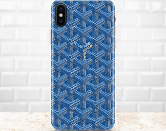 9e1f2fa5c9b Inspired by Goyard Luxury iPhone 8 Plus case Custom iPhone 7 case Galaxy  S10 case iPhone XR cover iPhone X iPhone XS Max Note 9 Pixel 3 XL