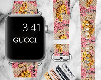 51c809d815d Inspired by Gucci Tiger Apple Watch band Fashion iWatch band 40mm Apple  Watch 42mm iWatch band 38mm Apple Watch 44mm iWatch strap 4 series