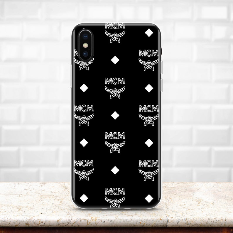 best cheap ba288 7af79 Inspired by MCM iPhone XS Max case Galaxy S10 case Note 9 case iPhone XR  cover iPhone X iPhone 8 Plus iPhone 7 Pixel 3 Samsung S9 men's gift