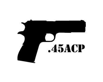 Gun Sticker Vinyl Die Cut Decal WALTHER Firearm Hunting Pistol Choose Size V306