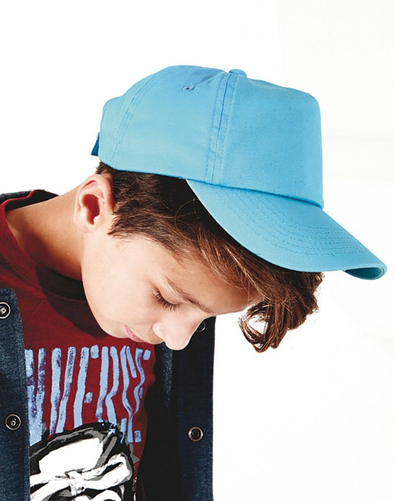 c827ca10f Boys Girls Baseball Cap School Summer Caps Junior Kids Children's Hat with  adjustable strap available in all School Colours