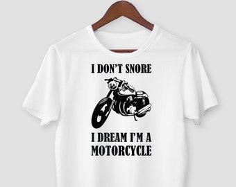 Uomo Divertente Motociclista Felpa Indiano Moto Biciclette Don/'T Perdite Olio