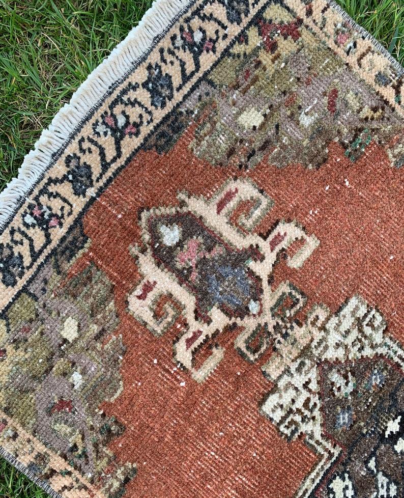 Outdoor Rug Entry Rug Etsy Rug Turkish Kilim Rug 1\u201961\u201dX3\u201931\u201dft Low Pile Small Rug Bohemian Rug Handmade Rug Small Home Rugs Rugs