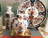 Collection of 3 Imari Style Items