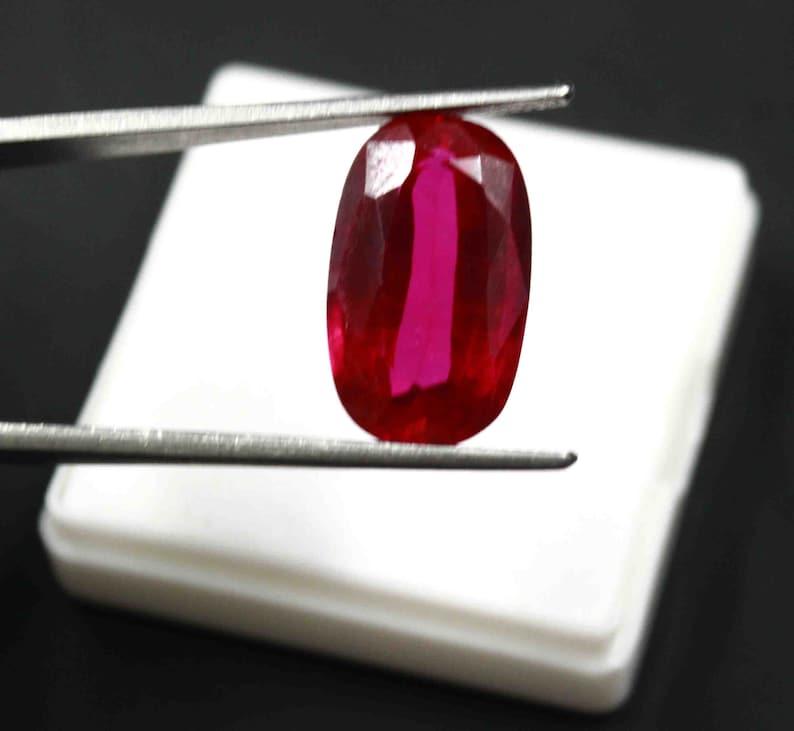 100/% Natural Cushion Burma Red Ruby 2.30 Ct Gemstone VS Clarity Certified CB47