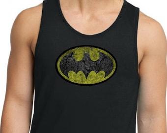 ba99ebd7a14510 Batman Men s Tank Top