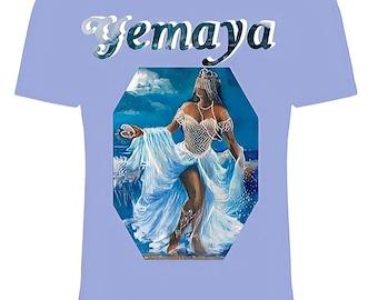 Yemaya Orisha Unisex T-Shirt   Ocean Goddess Top   Yoruba Orisha   Goddess T-shirt