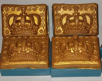 Oshun Golden Crown Soap   Coconut Milk Soap   Goat's Milk Soap   Crown Soap   Yellow Gold