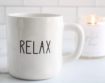 Ceramic Mug-Relax