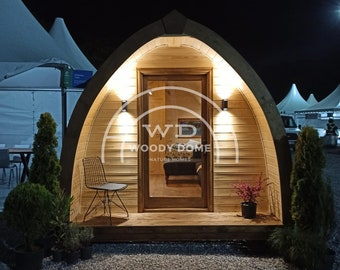 Glamping Pod - 193 sq ft - Modern Luxurious Design